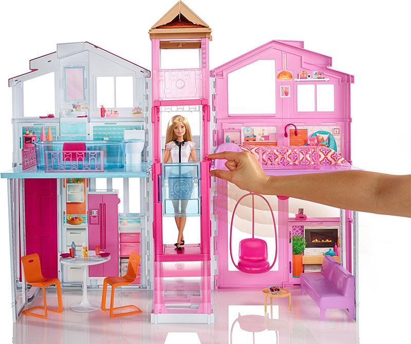 nueva s per casa de barbie pintando una mam pintando. Black Bedroom Furniture Sets. Home Design Ideas