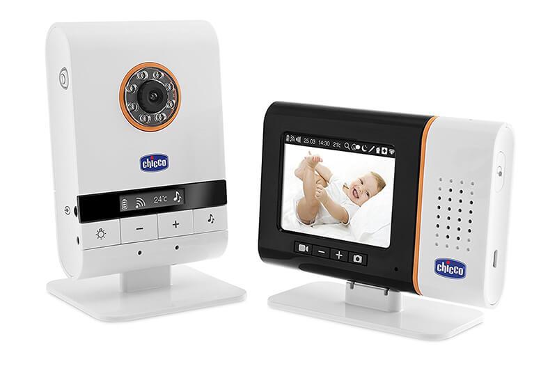Baby Monitor Top Digital Vídeo - Vigilabebés con cámara