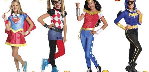 Disfraces de Superheroínas DC Super Hero Girls
