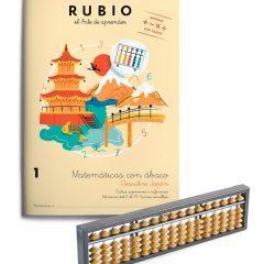 Cuadernos Rubio para Aprender Matemáticas con Ábaco Japonés