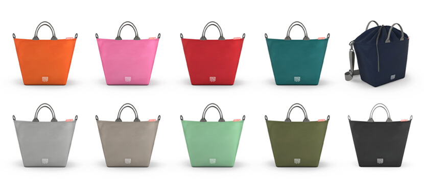 bolso maternial Greentom shopping bag