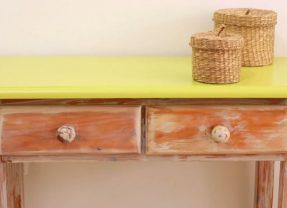 Cómo Envejecer un Mueble de Madera con Efecto Chalk Paint
