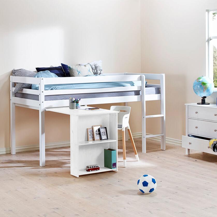 5 habitaciones para ni os tiles y bonitas pintando una - Cama con escritorio abajo ...