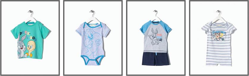 ropa bebé looney