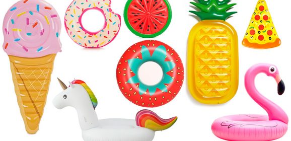 Flotadores y Colchonetas De Piscina y Playa para Adultos y Niños