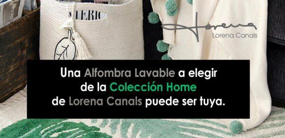 Sorteo Alfombras Lavables Colección Home y Kids de Lorena Canals