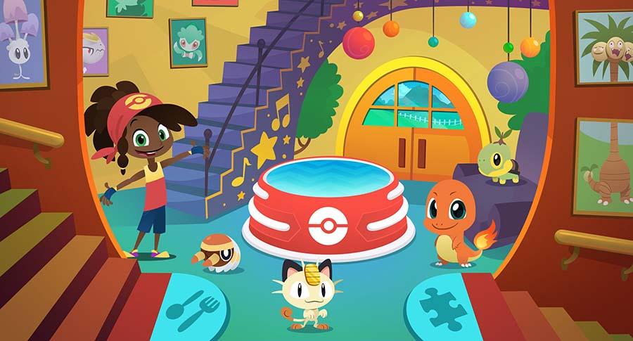 Nueva app casa de juegos pok mon para ni os pintando una - Casas de juego para ninos ...